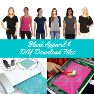 Blank Apparel and DIY Download Files