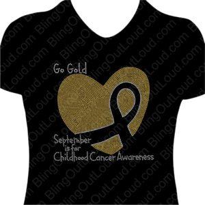 Go Gold in September for Childhood Cancer Awareness