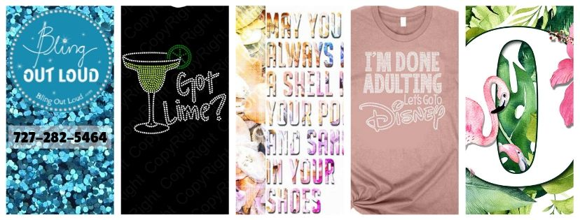 3a99fcd58 Bling Out Loud - Rhinestones, Spangles, Graphics, Custom Apparel, and More